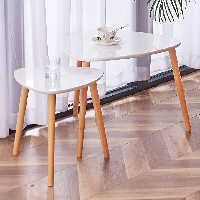 TaoHFE Nesting Coffee Tables Set of Two