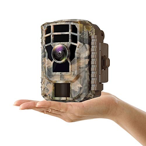 Campark - Mini Trail Camera Waterproof Wildlife Scouting Hunting Cam