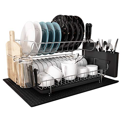 MAJALiS - 304 Stainless Steel Large Capacity Dish Drying Rack