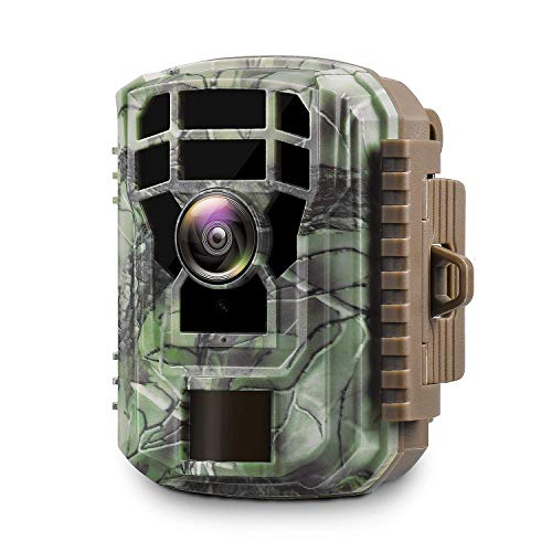Campark - Mini Trail Camera with Waterproof Wildlife Scouting Hunting Cam