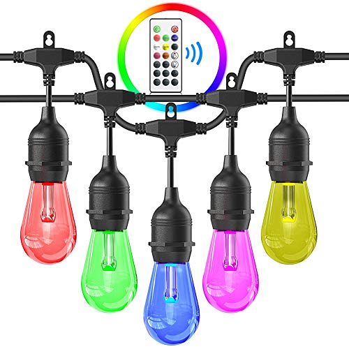iBesi RGB LED String Lights Waterproof with Commercial Grade