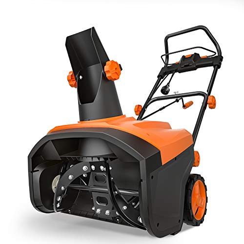 TACKLIFE Snow Blower, 15 Amp Electric Snow Thrower