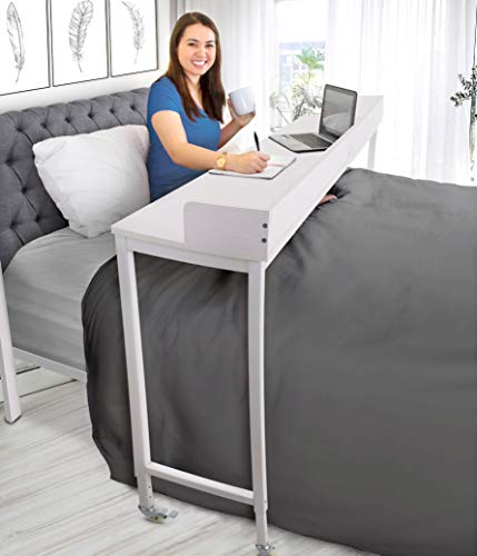 Stand Steady Joy Overbed Table with Wheels