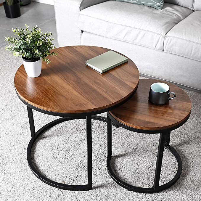 Amzdeal Coffee Table for Living Room