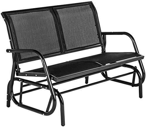 Esright - Outdoor Swing Glider Loveseat Chair