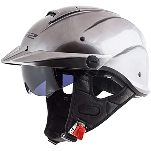 LS2 Helmets Rebellion Motorcycle Half Helmet