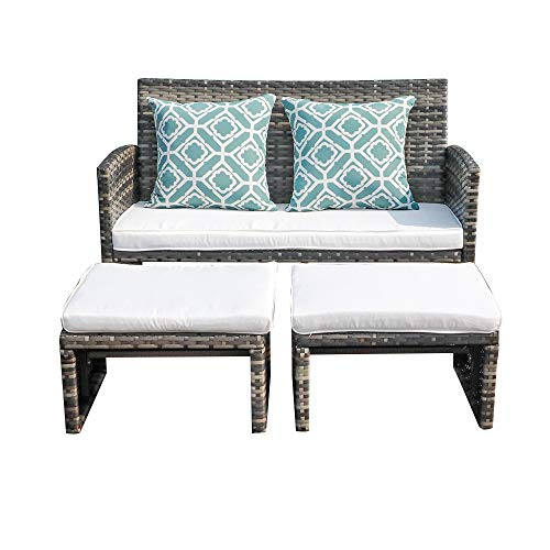 OC Orange-Casual - Patio Wicker Furniture Set